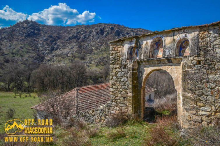 Chebren Monastery, Mariovo, Macedonia