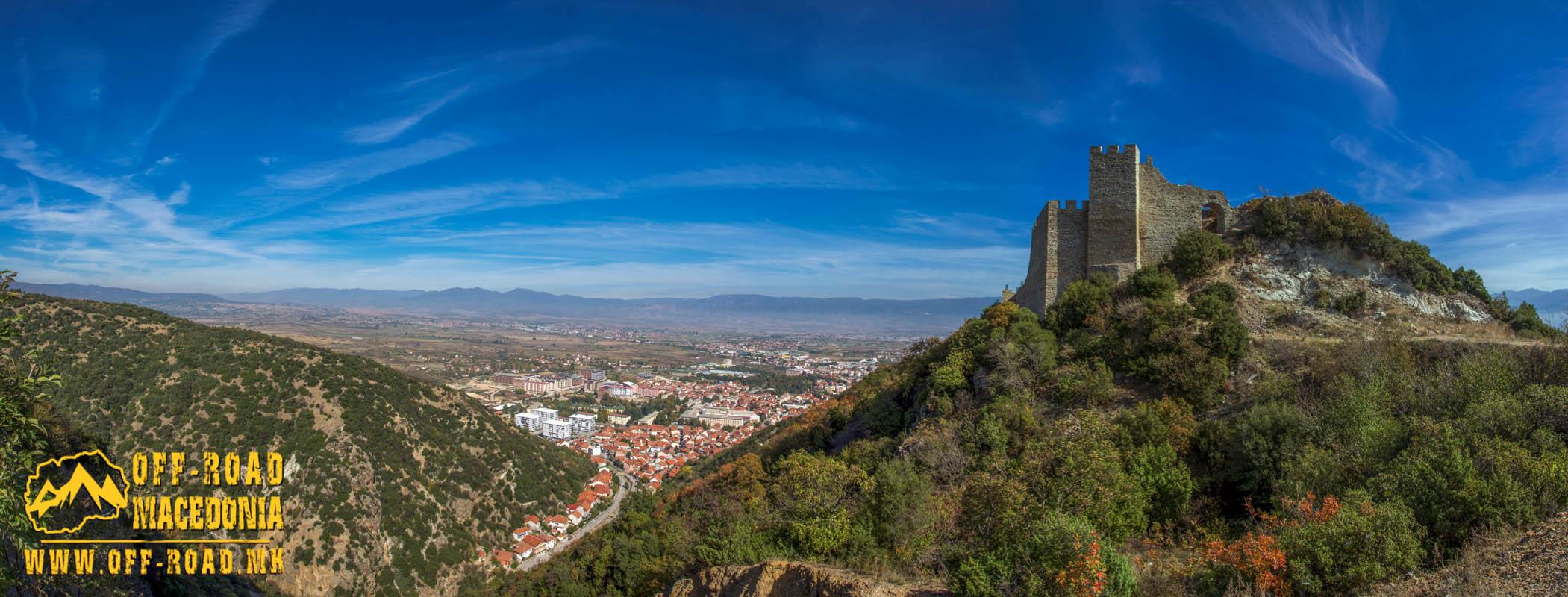 Strumica Fortress - Carevi Kuli (Czar's Towers) - XI century fortress above the city of Strumica